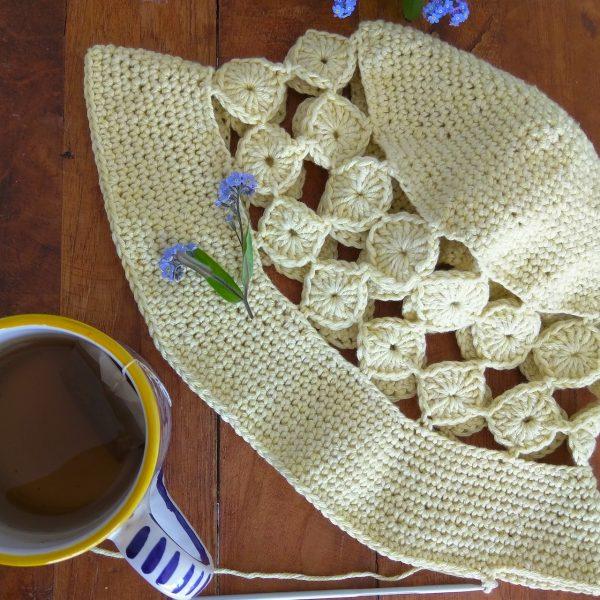 crochet summer hat design